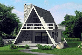 Trendy-A-Frame-House-Plans