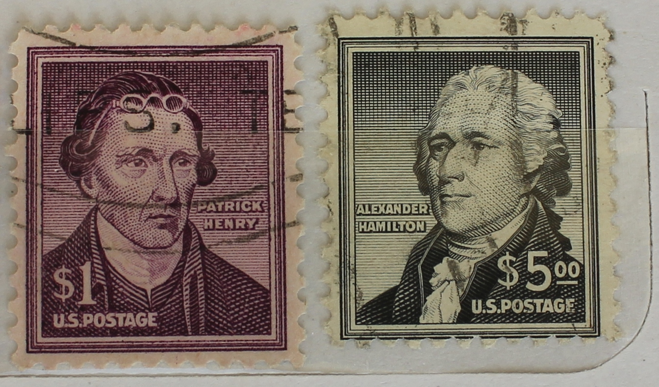 My Postage Stamps Collection: US High Face Values - Pt 2
