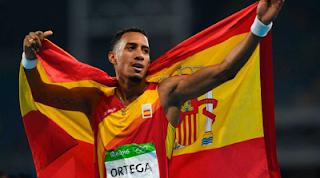 Orlando Ortega logra medalla plata 110 metros valla Rio 2016