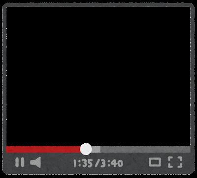 ネット動画のフレーム素材