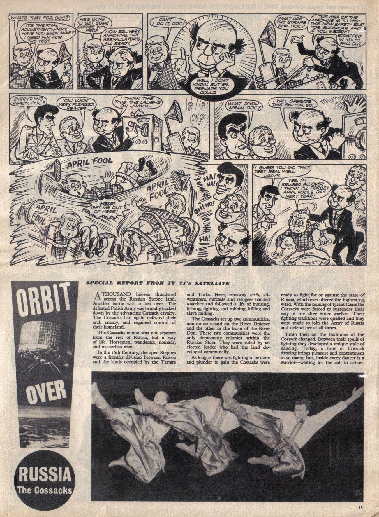 Read online TV Century 21 (TV 21) comic -  Issue #11 - 14