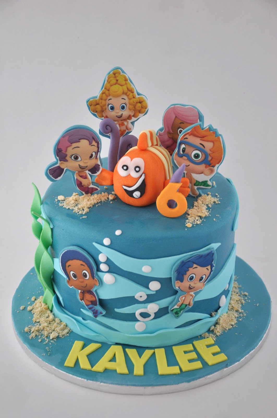 Rozanne S Cakes Bubble Guppy Cake