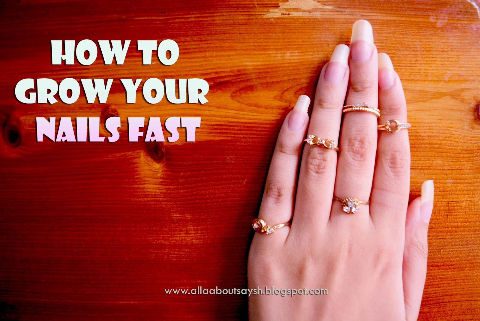 how to grow nails fast in 1 hour