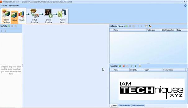 GEOVIA MineSched v9.0.0