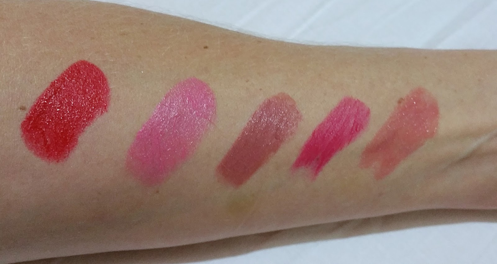 My 5 Favourite Lipsticks