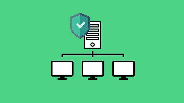 Gambar Jaringan Client-Server