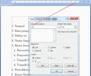 Tips Cara Membuat Daftar Isi Otomatis Di Microsoft Word