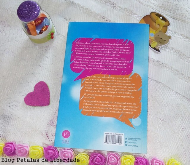 "Resenha: livro ""A consultora teen"", Patrícia Barboza"