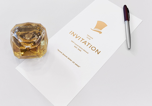 Download Template Mockup Terbaru - Invitation Mockup