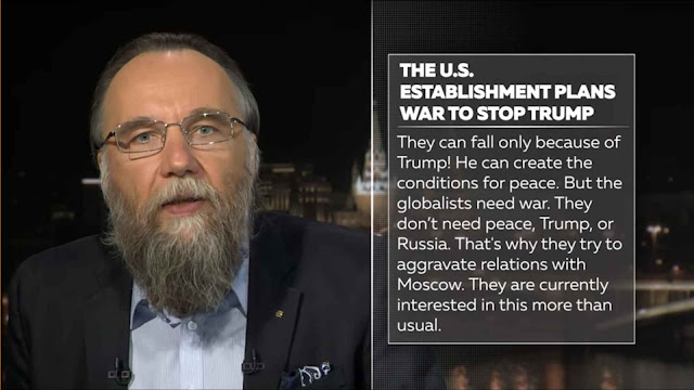 Os inimigos da Rússia só podem cair por obra de Trump.
