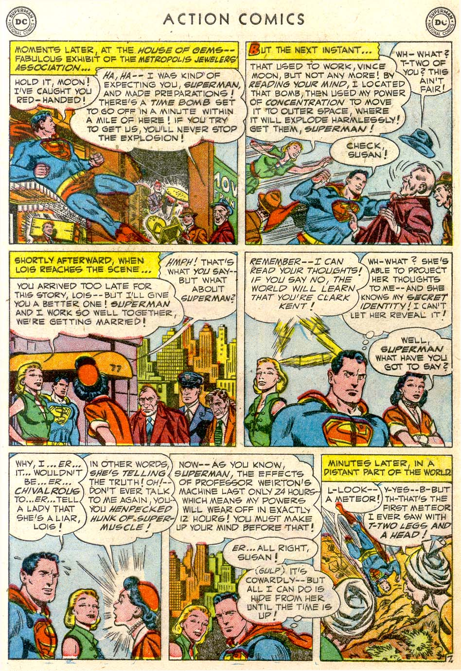 Read online Action Comics (1938) comic -  Issue #163 - 8