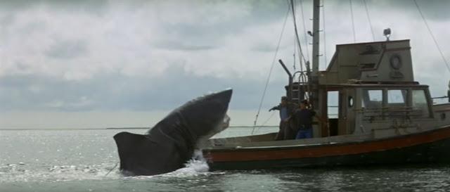 Jaws Attacks Boat