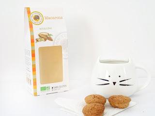 Macarons bio aux amandes - Biscuiterie de Provence