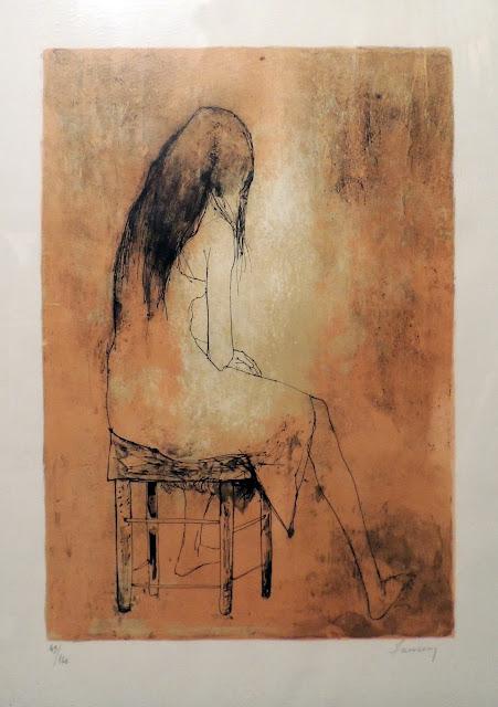 Jean Jansem arte litografía, obra gráfica barato arte moderno