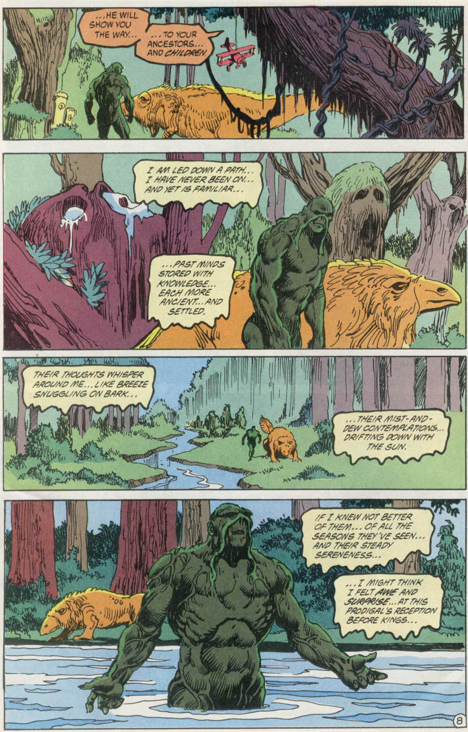 Swamp Thing (1982) Issue #100 #108 - English 9