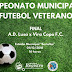 Decisão do Campeonato Municipal de Futebol Veterano de Registro-SP será neste sábado, 01/12