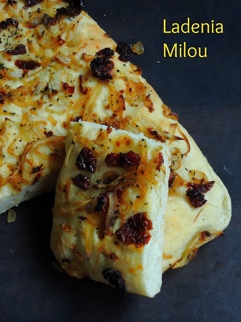 Ladenia Milou, Greek Flatbread
