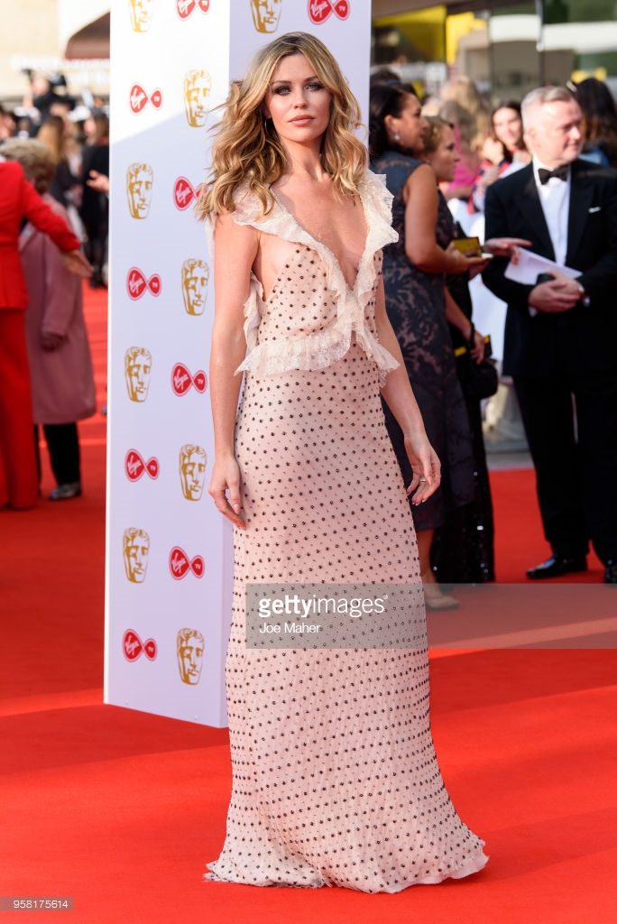 look abbey  clancy bafta 2018