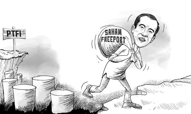 Bongkar Kejanggalan Pembelian Saham, Kalangan Aktivis Dukung DPR Bentuk Pansus Freeport