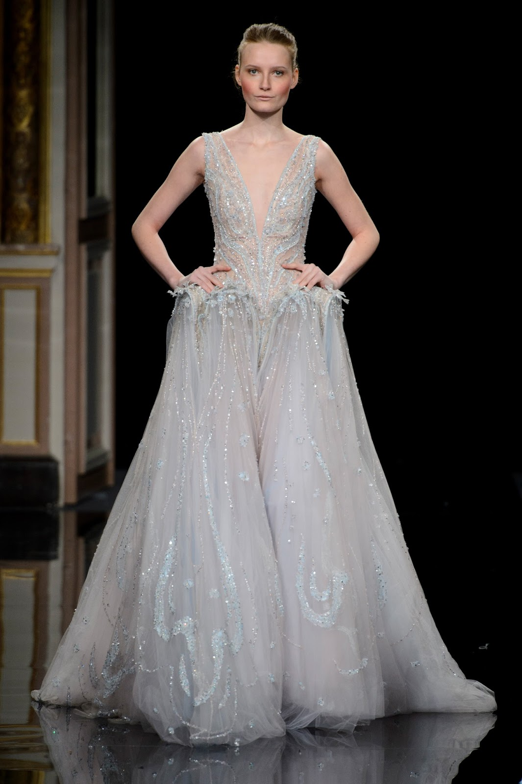 Breathtaking gowns ziad nakad february 16 2017 zsazsa for Ziad nakad wedding dresses