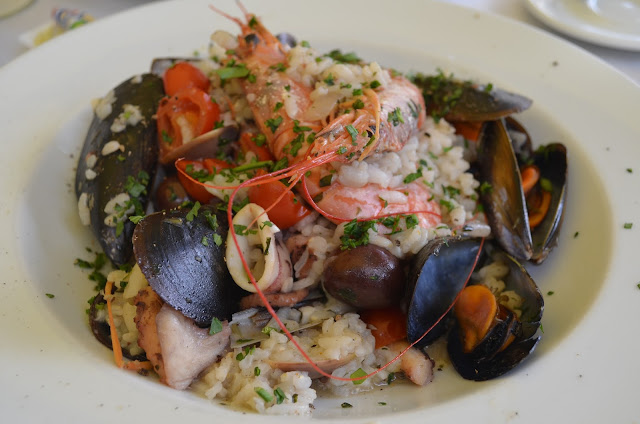 Prato do restaurante The Stone Crab