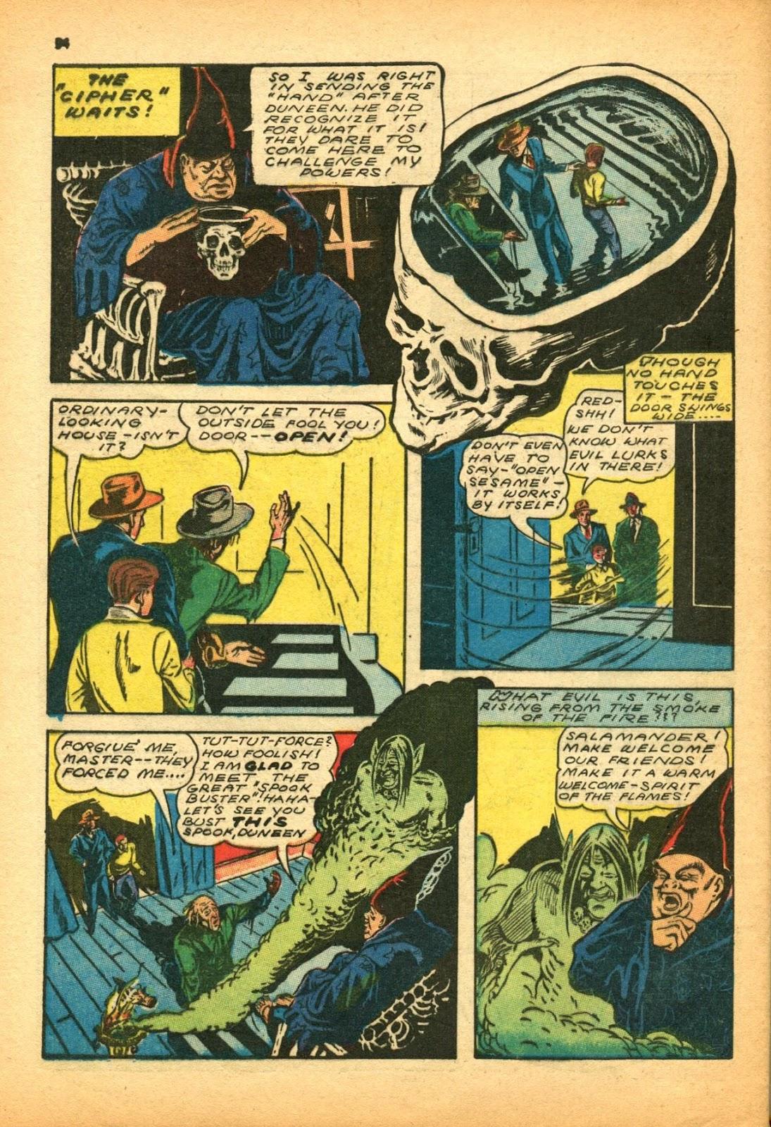 Read online Super-Magician Comics comic -  Issue #12 - 54