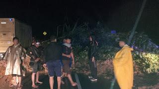 Longsor di Aceh Jaya Sudah Bisa Dilalui Kenderaan