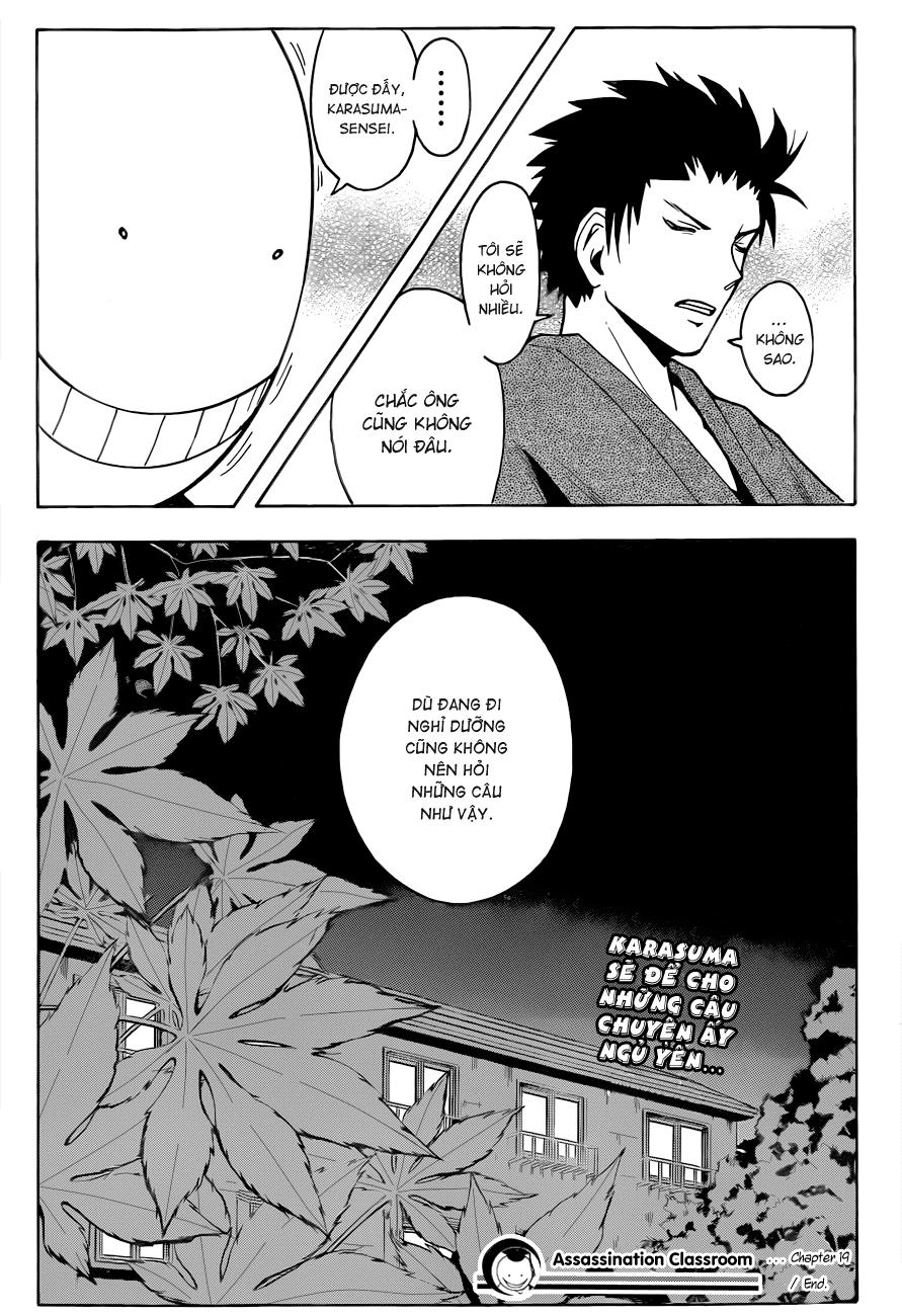 Ansatsu Kyoushitsu chap 19 trang 20