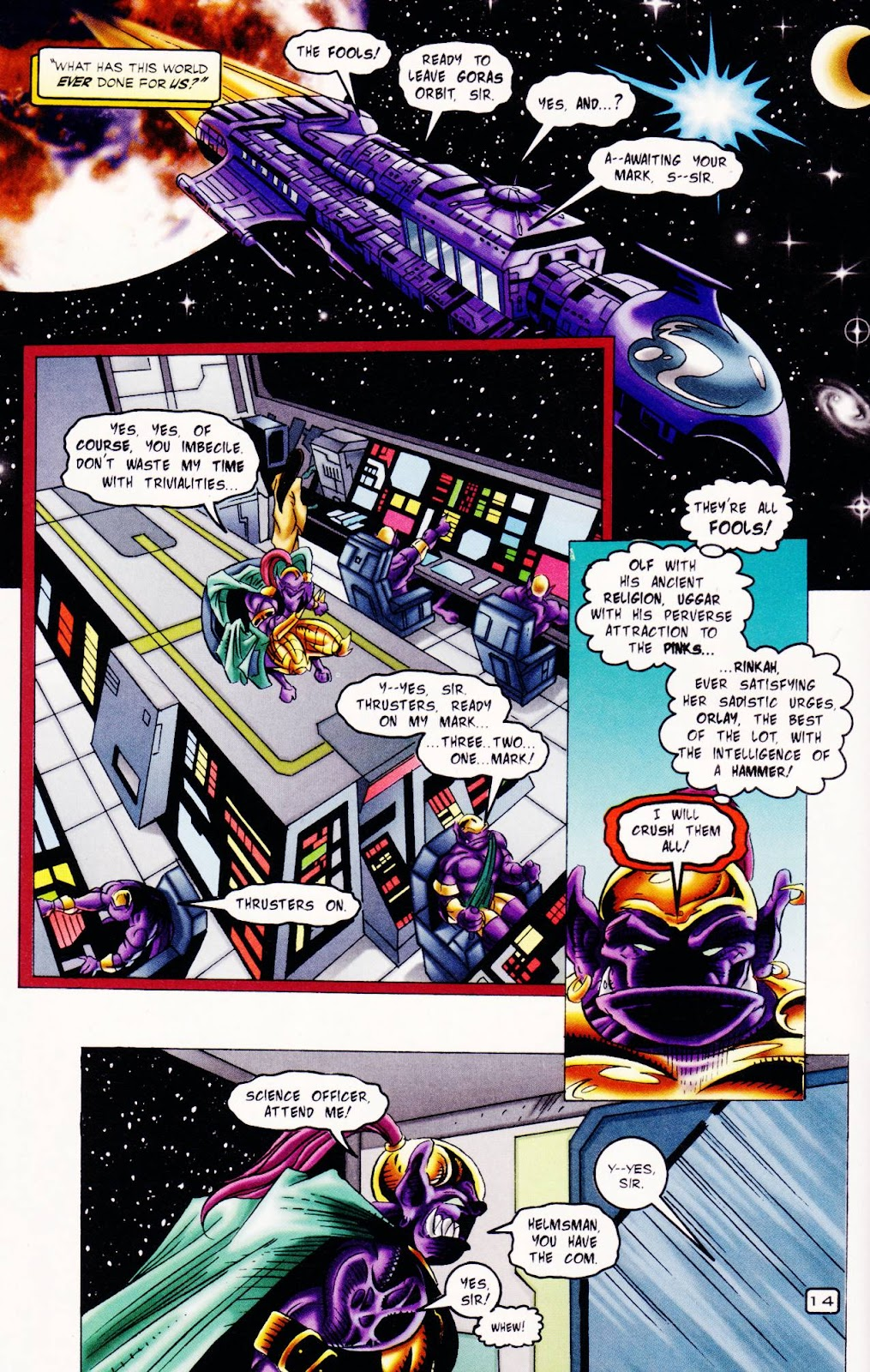 Read online The Alliance comic -  Issue #2 - 13