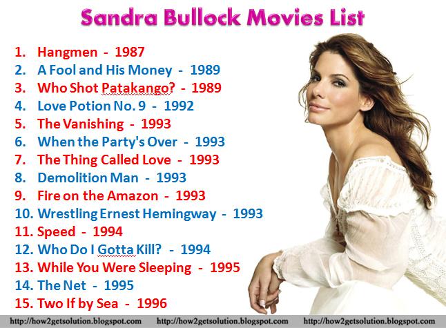 Smartpost: Sandra Bullock Movies | Browse Sandra Bullock All
