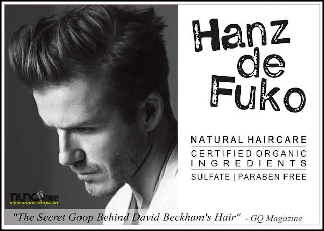 David Beckham Style Quiff Tutorial  Hanz de Fuko Quicksand & Claymation