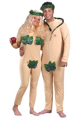 Disfraz de Adan y Eva