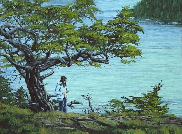 Художник, рыбак и охотник. Kurt Jacobson