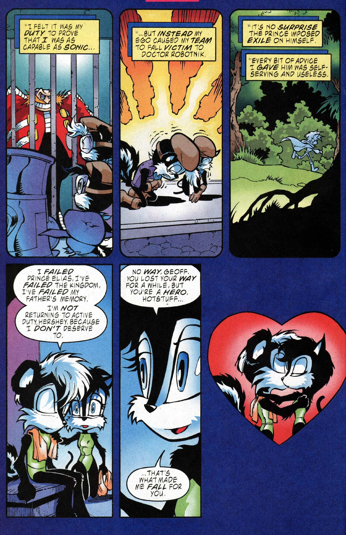 Read online Sonic The Hedgehog comic -  Issue #118 - 17