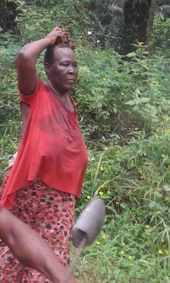 Anambra woman nabbed while burying charms in neigbour's house