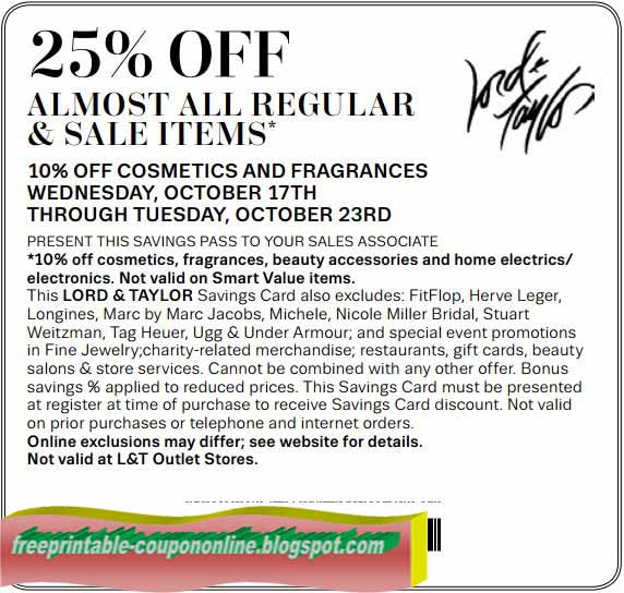 Lord and Taylor is a luxury department store featuring the latest trends and timeless classics for designer clothing, shoes, handbags and accessories. The store offers many special services including 24/7 customer service and personal shoppers.