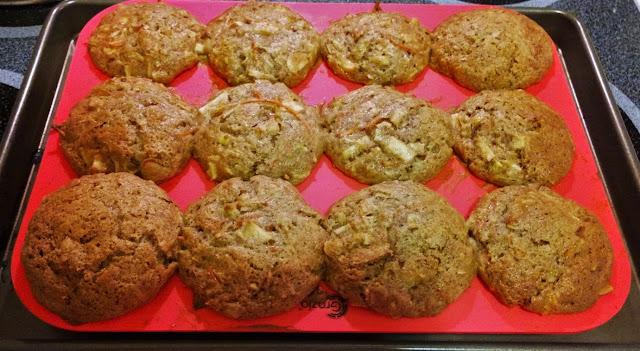 Morning Glory Healthy Muffins