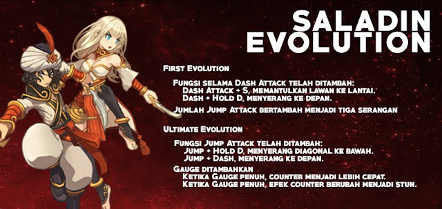 Saladin Evolution Lost Saga Indonesia