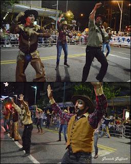 Desfile Inaugural del Carnaval. Uruguay. 2017 Parodistas Aristophanes
