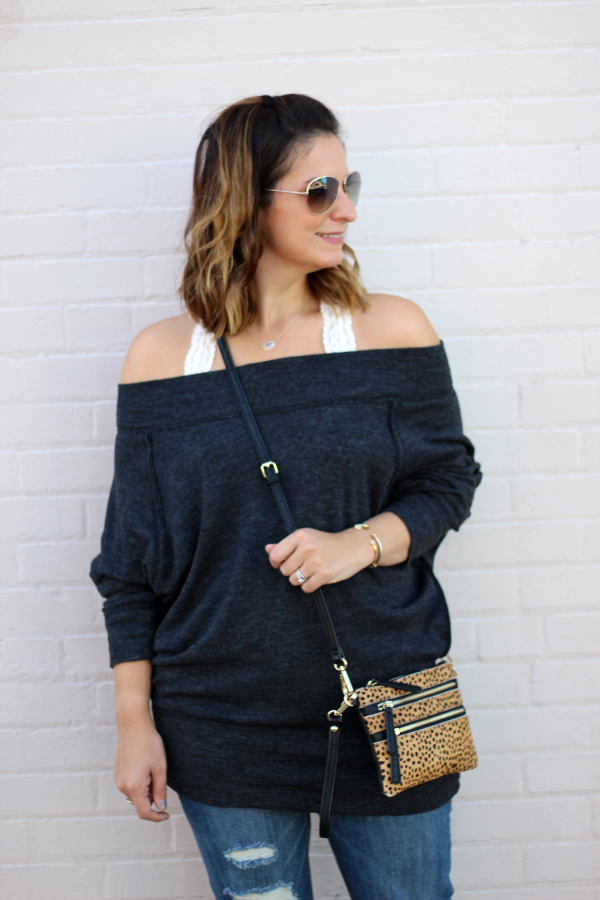 nc blogger, fall fashion, style on a budget, off the shoulder top, mom style