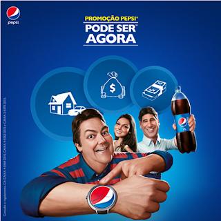 """Promoção """"Pode Ser Agora"""" com Pepsi (Faustão)"""