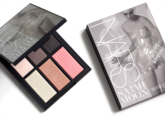 NARS x Sarah Moon Give In Take Dual-Intensity Eye Cheek Palette Review Photos Swatches