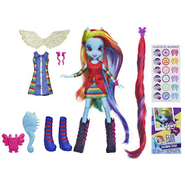 MLP Equestria Girls Original Series Dress Up Rainbow Dash Doll