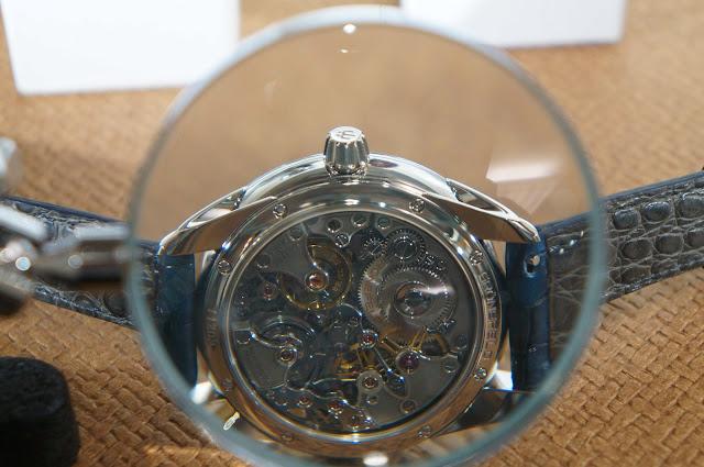 Grönefeld 1941 Remontoire with a Kari Voutilainen guilloché dial