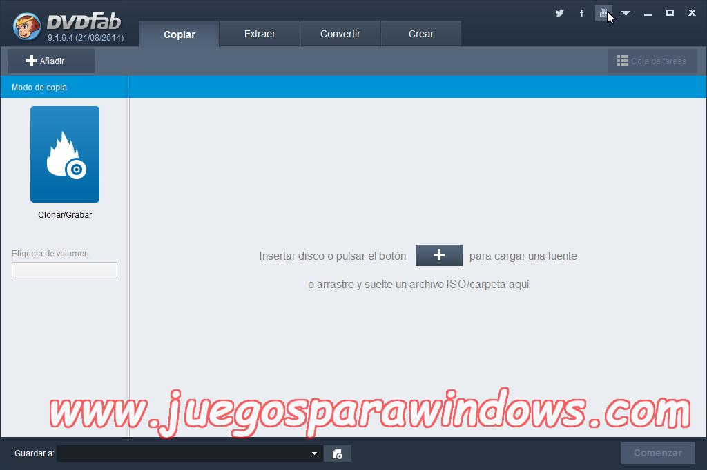 DVDFab v9.3.0.4 Full PC ESPAÑOL Descargar 5