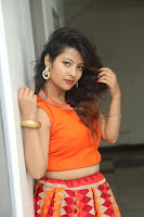 Shubhangi Bant in Orange Lehenga Choli Stunning Beauty ~  Exclusive Celebrities Galleries 017.JPG