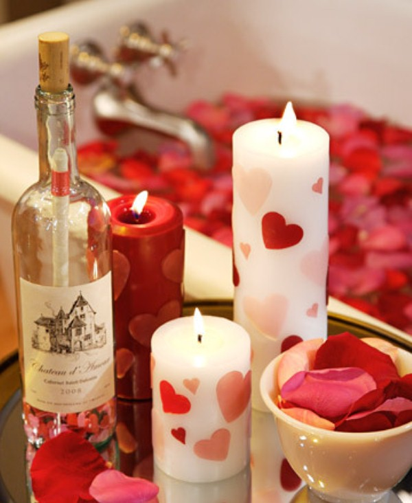 Little Girls Bedroom Beautiful Candles For Valentine S