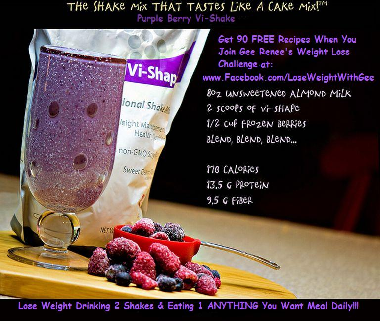 body by vi shakes to lose weight