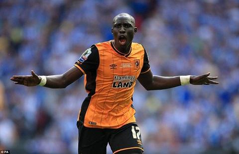 Mohamed Diame là người hùng khi ghi bàn thắng duy nhất trong trận đấu