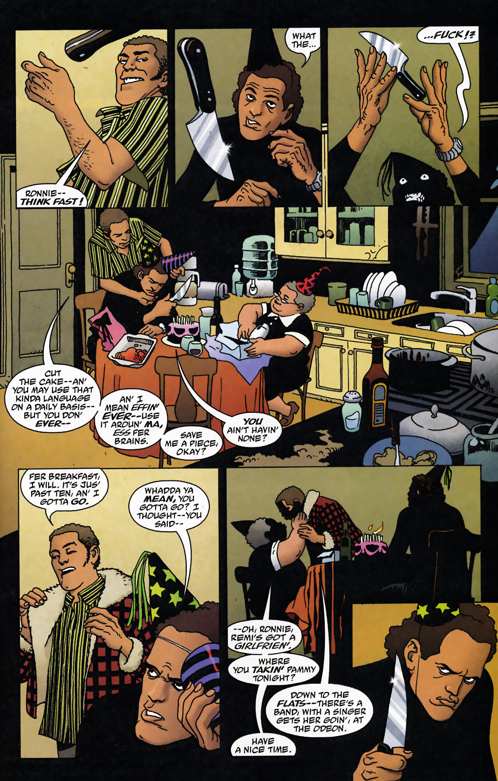 Read online 100 Bullets comic -  Issue #72 - 4